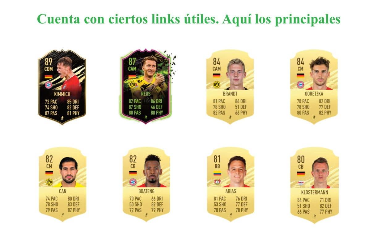 FIFA 21 Ultimate Team Bellarabi link verde