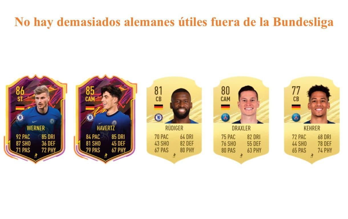 FIFA 21 Ultimate Team Bellarabi link naranja