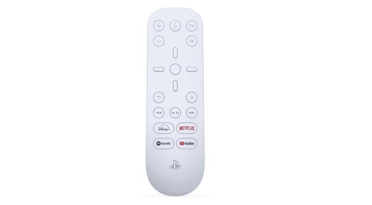 Imagen de Confirmado el diseño del mando a distancia de PS5; habrá botones de Netflix, Disney+ y más