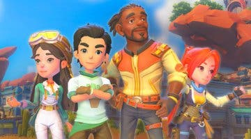 Imagen de My Time at Sandrock, secuela de My Time at Portia, anunciado con plataformas y fecha aproximada