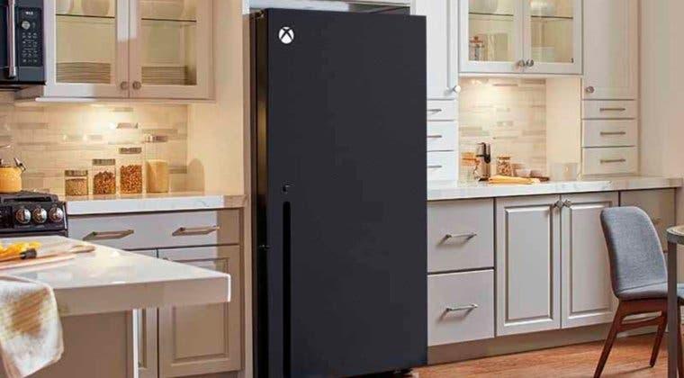 Imagen de La nevera con forma de Xbox Series X se hace real y puede ser tuya