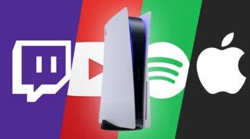 Imagen de PS5 confirma sus servicios de cine/series/música de lanzamiento y otros que llegarán en el futuro