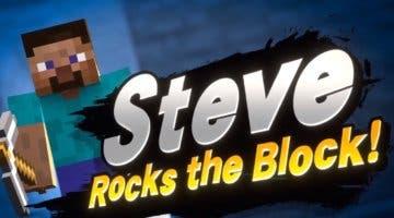 Imagen de Steve y varios personajes de Minecraft se unen al plantel de Super Smash Bros. Ultimate