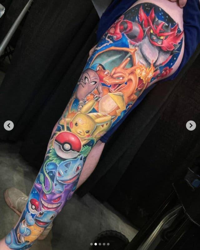 tatuaje de Pokémon