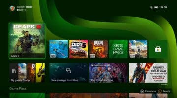 Imagen de Xbox Series X y Series S muestran su interfaz, menús y más