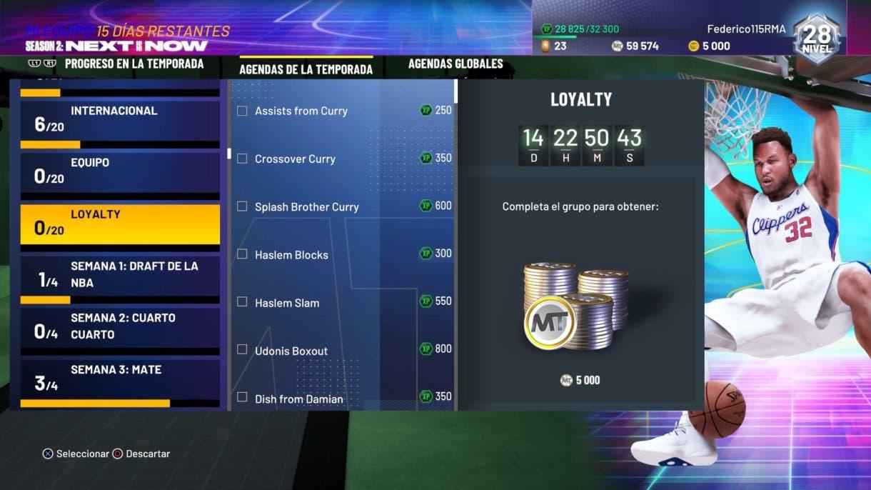 NBA 2K21 MyTeam Loyalty