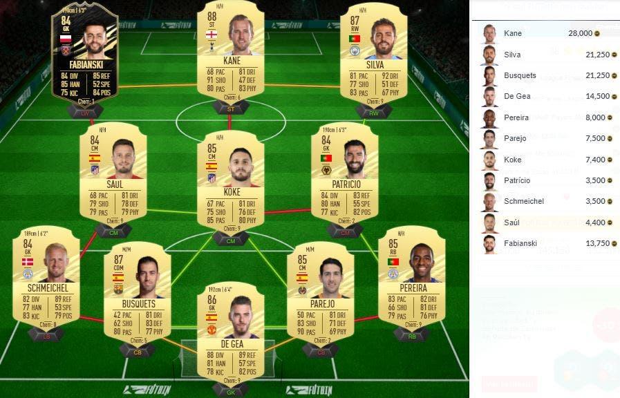 FIFA 21 Ultimate Team Edwin van der Sar Icono Baby SBC