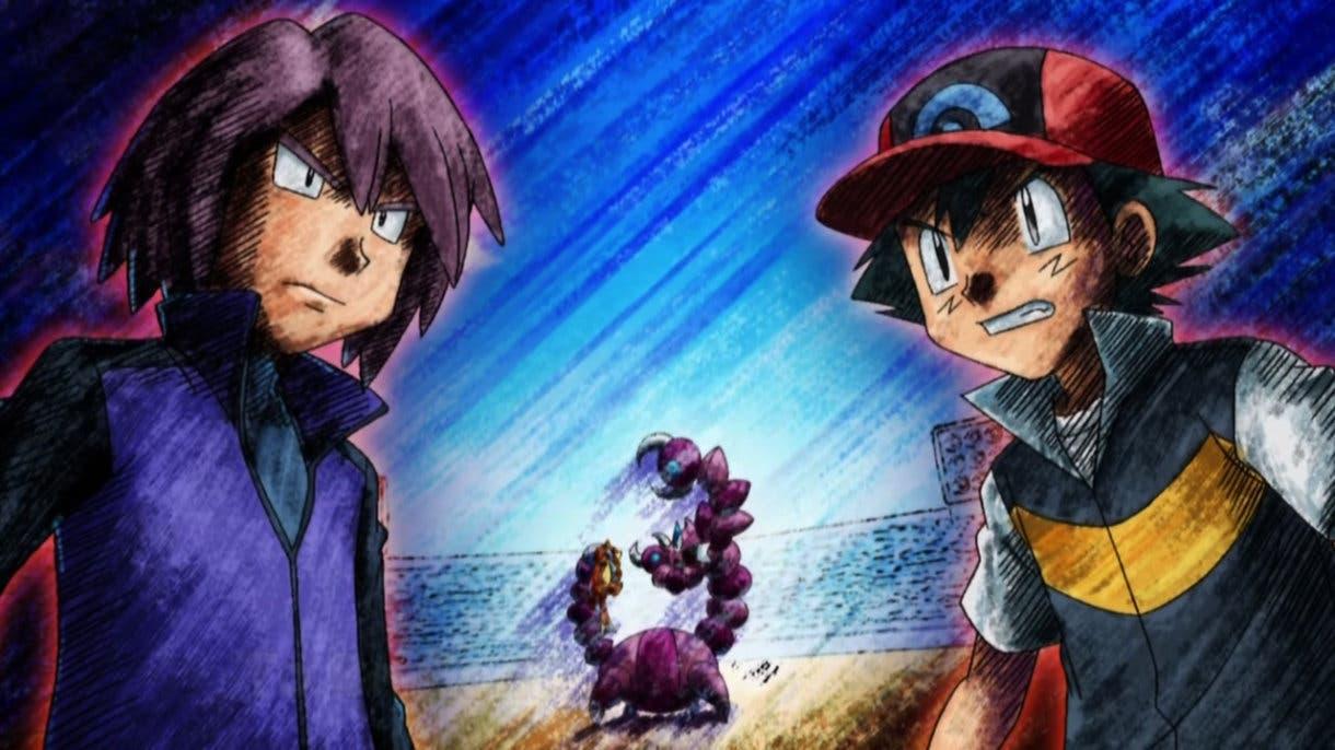 Anime de Pokémon Ash vs Polo