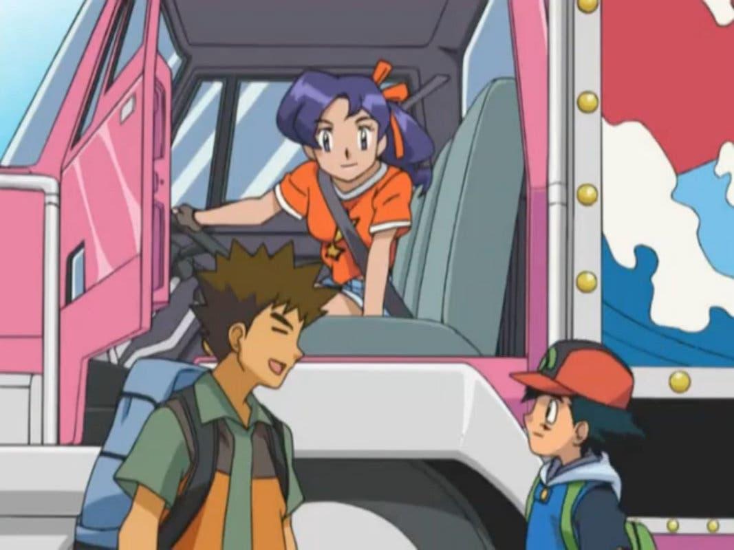 Anime de Pokémon Ash y Brock encuentro Sinnoh