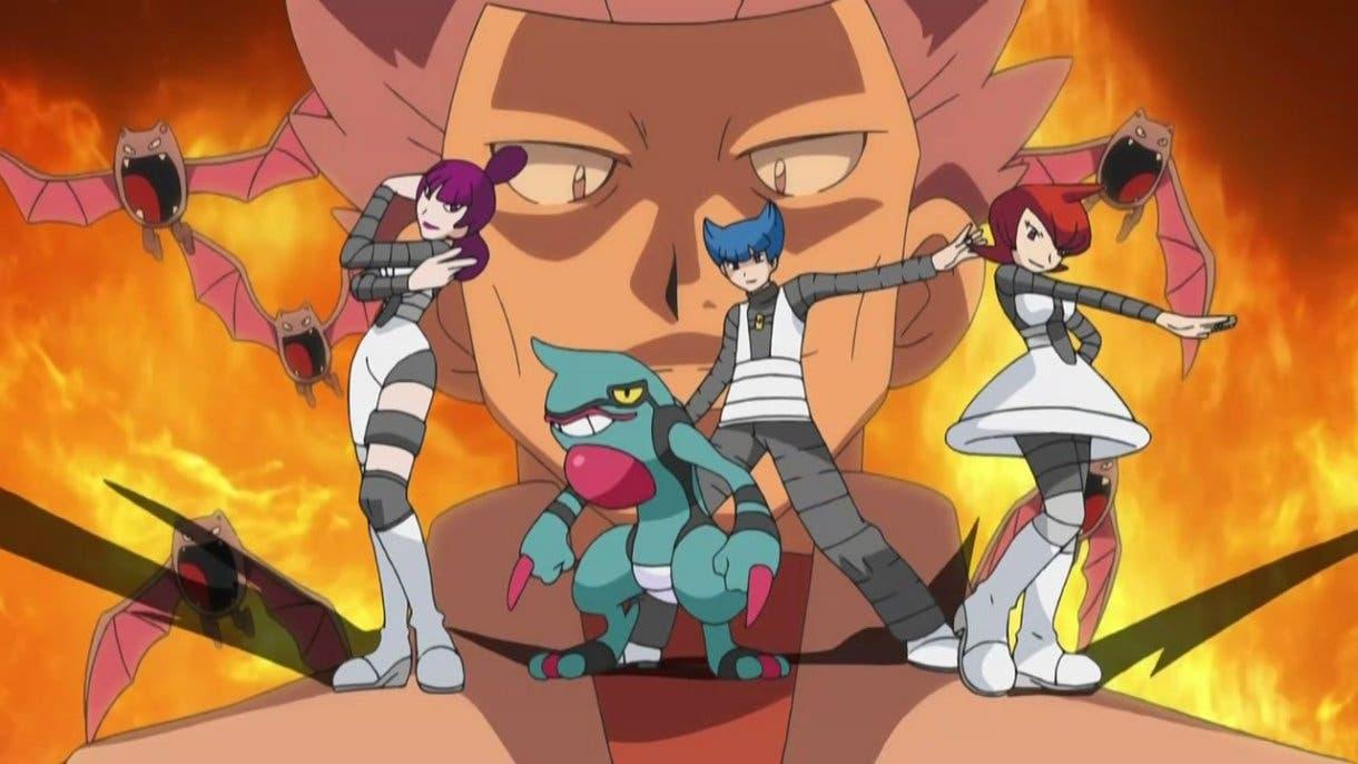Anime de Pokémon Equipo Galaxia