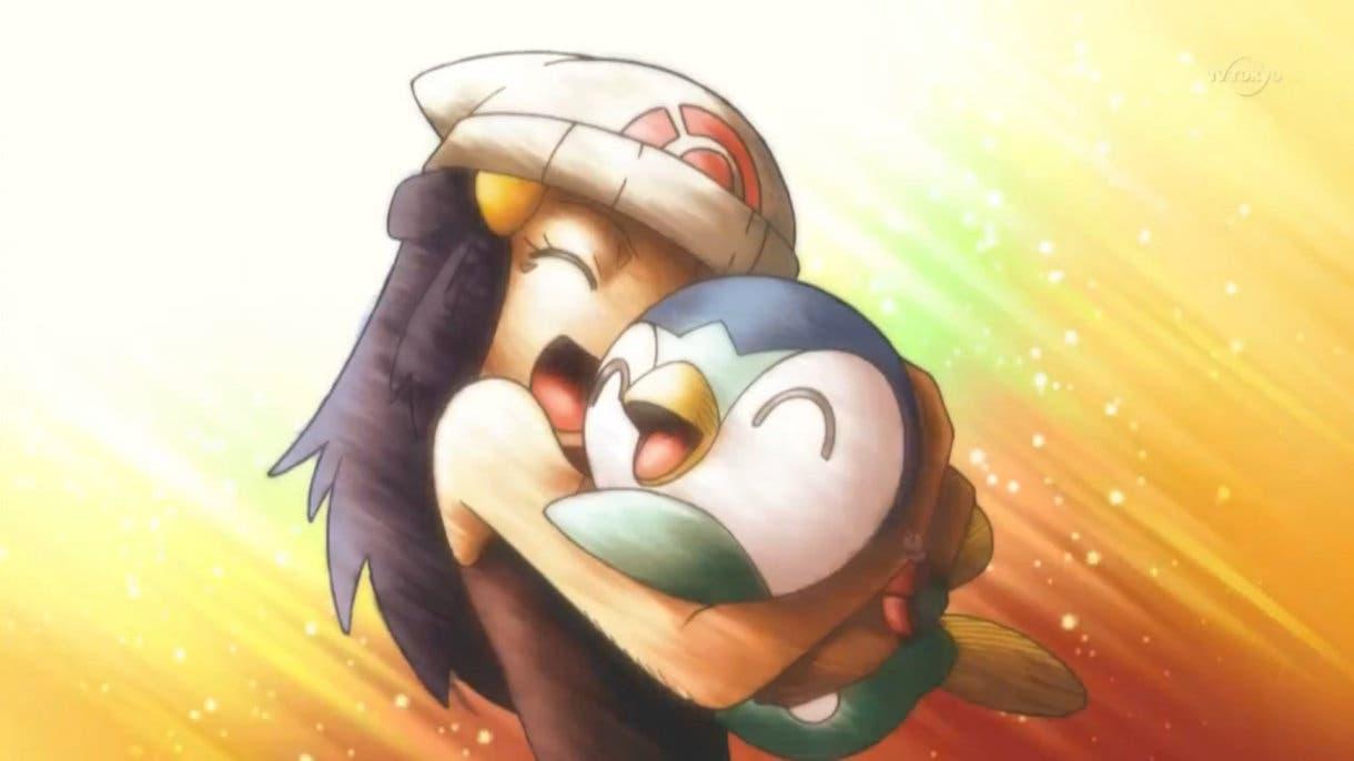 Anime de Pokémon Maya y Piplup 3