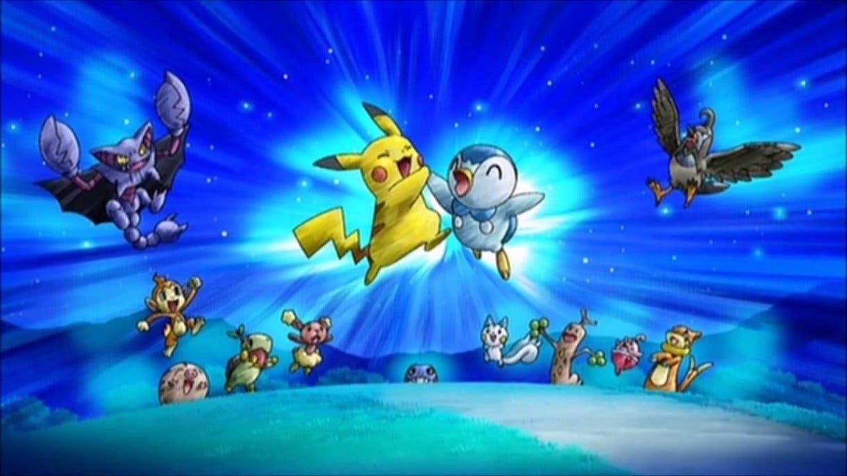 Anime de Pokémon Sinnoh