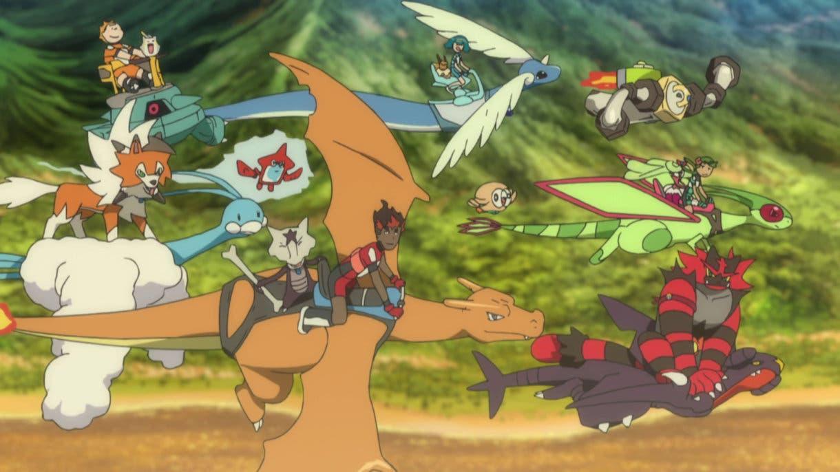 Anime de Pokemon Alola despedida