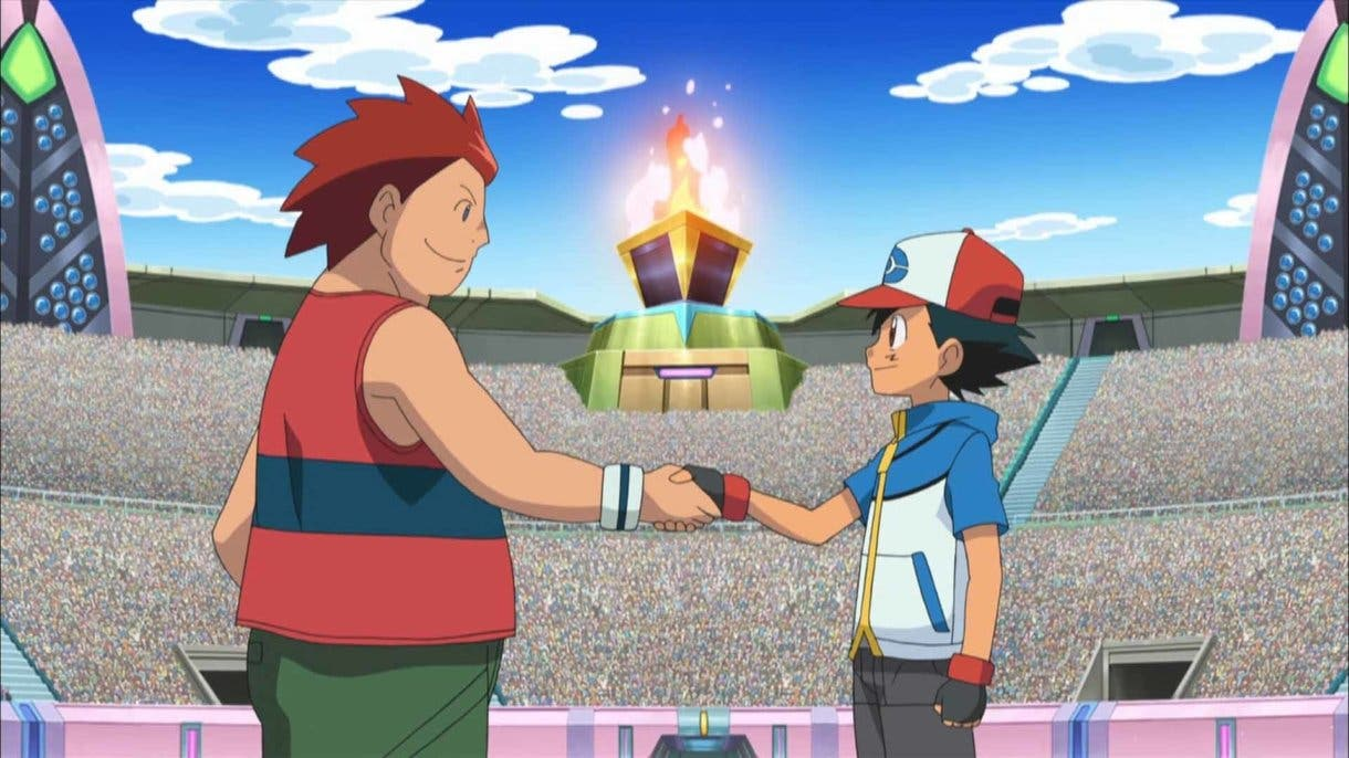 Anime de Pokemon Ash vs Stephan