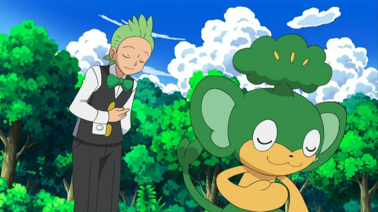 Anime de Pokemon Millo y Pansage