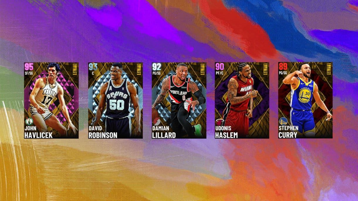 Cartas Coleccion Loyalty NBA 2K21