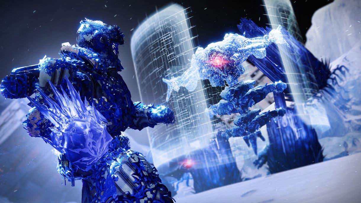 Destiny 2 permite congelar a los enemigos gracias al uso del Estasis