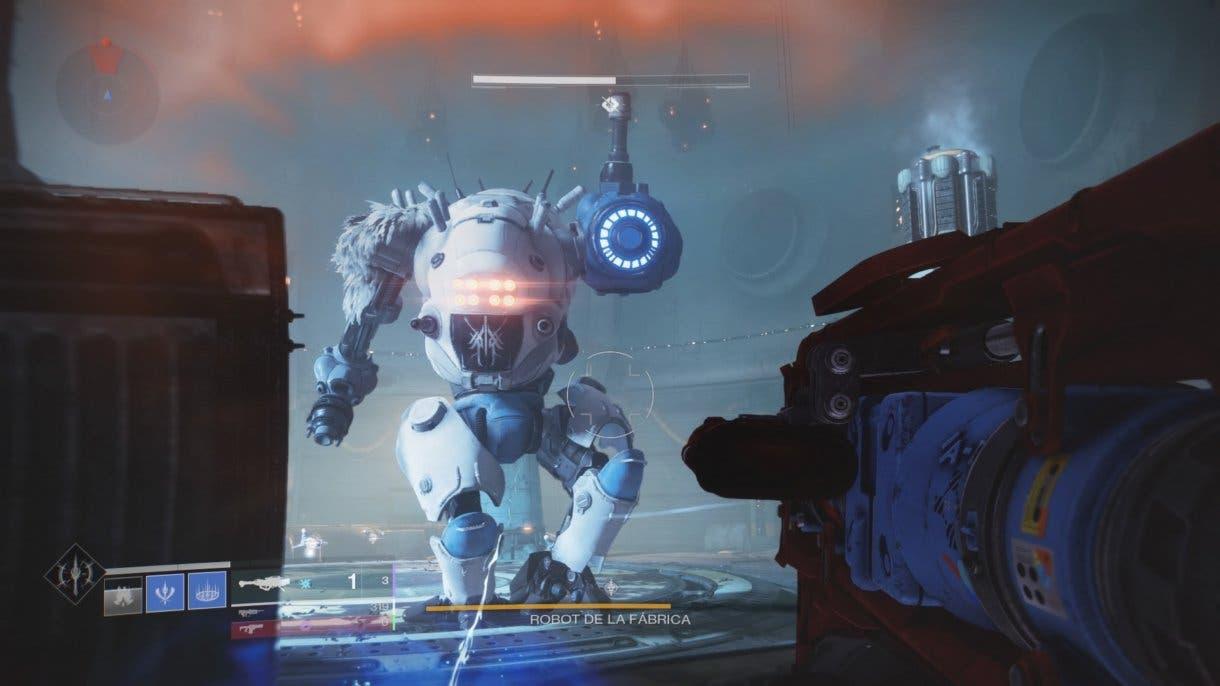Destiny 2 nuevo enemigo Robot