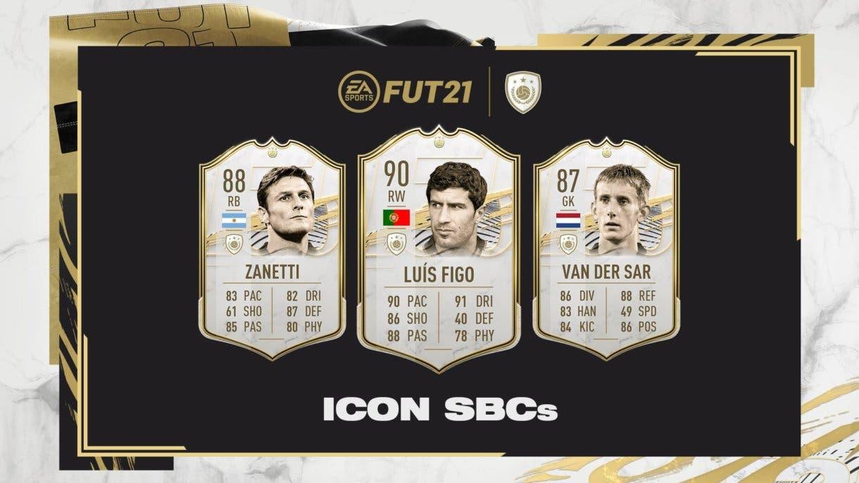 FIFA 21 Ultimate Team Desafíos de Creación de Plantillas de Iconos (ICON SBC´s)