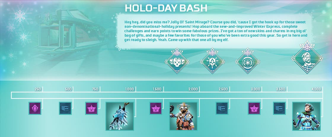 apex legends holo-day bash 2020