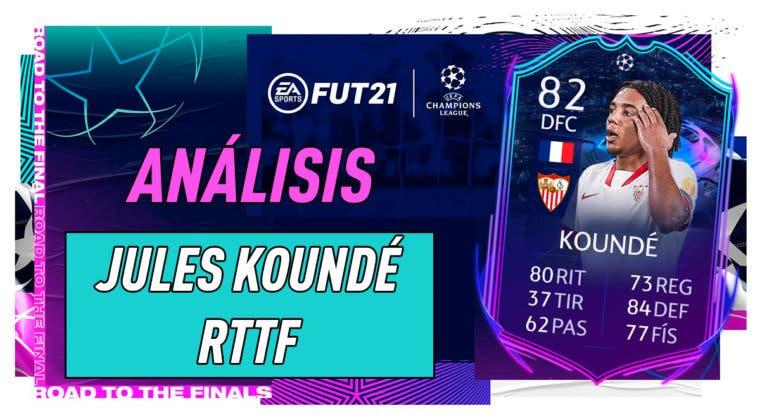 Imagen de FIFA 21: análisis de Jules Koundé RTTF, la carta gratuita de la Liga Santander
