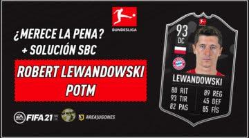Imagen de FIFA 21: ¿Merece la pena Robert Lewandowski POTM? + Solución de su SBC