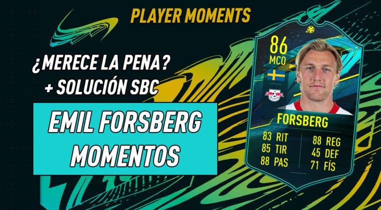 Imagen de FIFA 21: ¿Merece la pena Emil Forsberg Moments? + Solución de su SBC