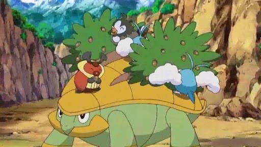 Grotle Pokemon inicial