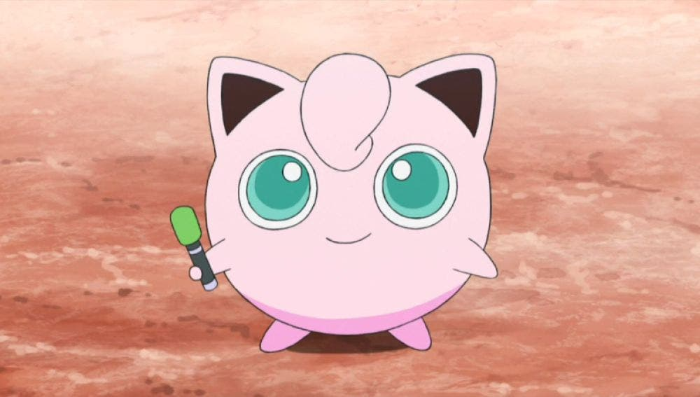 Jigglypuff anime de Pokémon