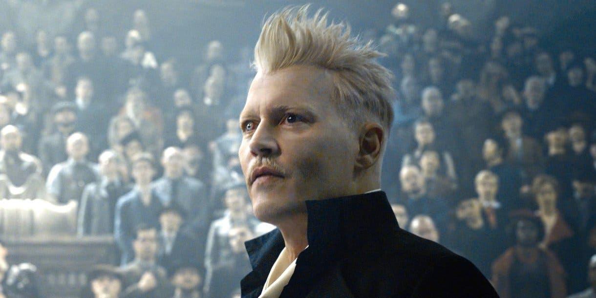 Johnny Depp as Grindelwald in Fantastic Beasts 2
