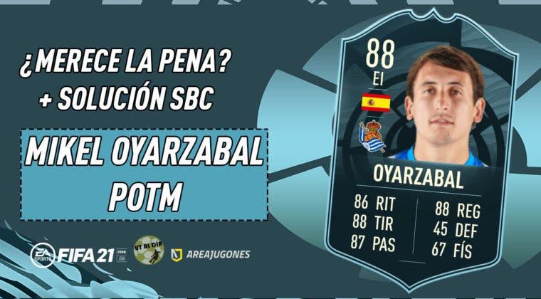 Imagen de FIFA 21: ¿Merece la pena Mikel Oyarzabal POTM? + Solución de su SBC