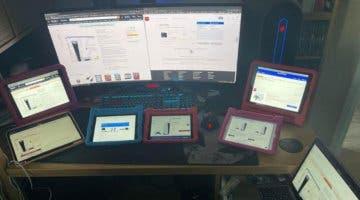 Imagen de Dos ordenadores, un móvil, cinco tablets y 13 horas para lograr reservar una PS5 para su hijo