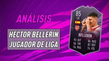 Imagen de FIFA 21: análisis de Héctor Bellerín Jugador de Liga, la nueva carta free to play de Ultimate Team