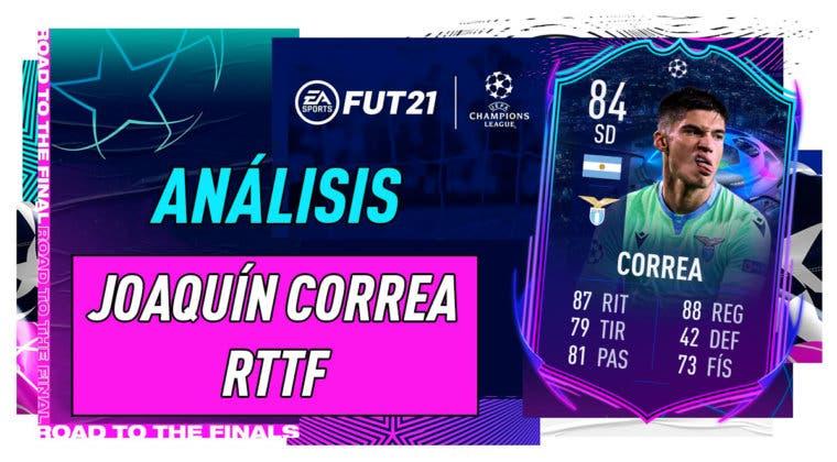 Imagen de FIFA 21: análisis de Correa RTTF, la nueva carta free to play