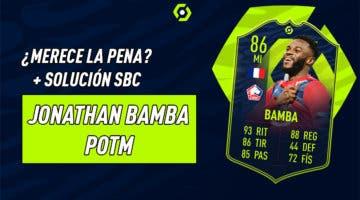 Imagen de FIFA 21: ¿Merece la pena Jonathan Bamba POTM? + Solución de su SBC