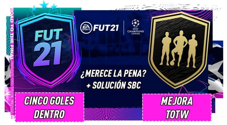 """Imagen de FIFA 21: ¿Merecen la pena los SBC's """"Cinco goles dentro"""" y """"Mejora TOTW""""?"""