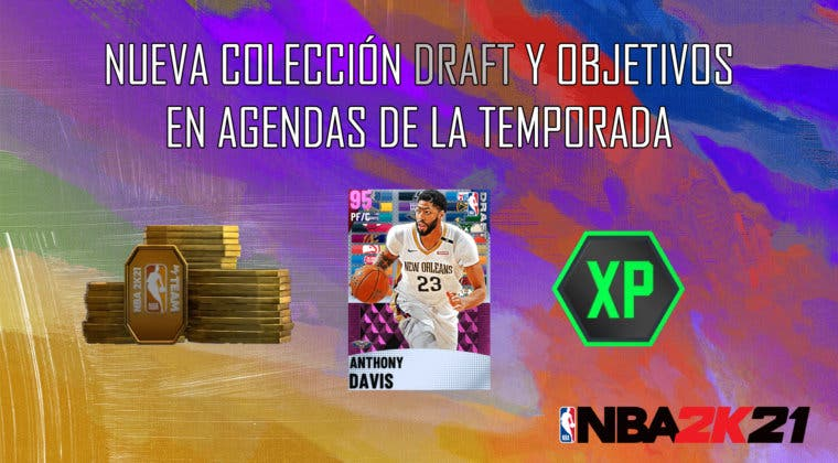 Imagen de NBA 2K21 MyTeam: nueva colección Draft, desafío semanal y objetivos en Agendas de la Temporada