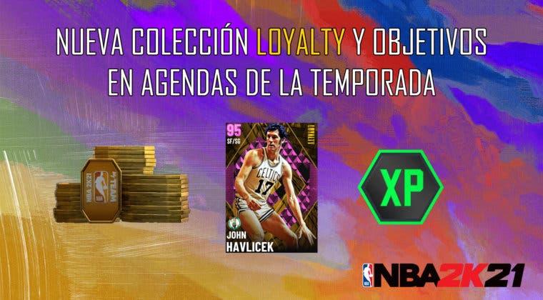 Imagen de NBA 2K21 MyTeam: nueva colección Loyalty y objetivos en Agendas de la Temporada