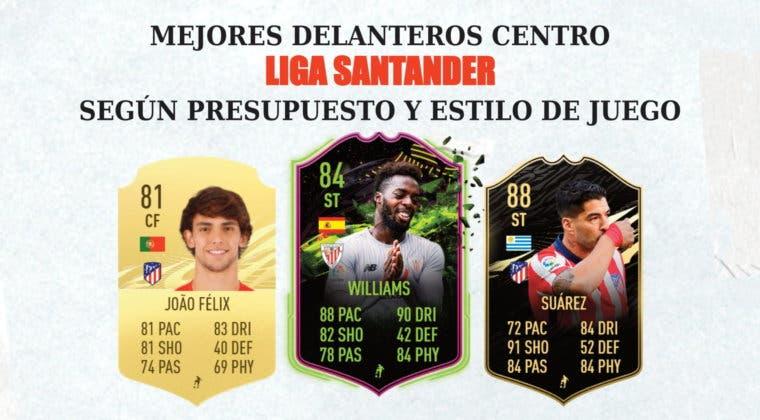 Imagen de FIFA 21: mejores delanteros centro de la Liga Santanter para cada presupuesto y estilo de juego
