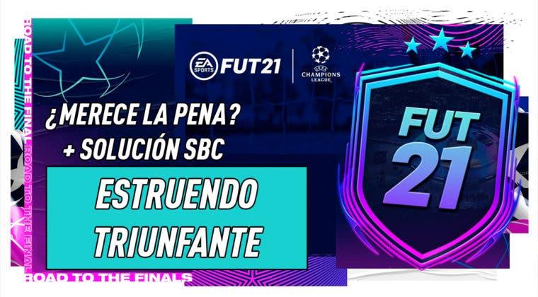 """Imagen de FIFA 21: ¿Merece la pena el SBC """"Estruendo triunfante""""?"""