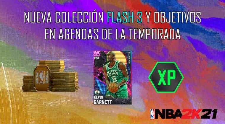 Imagen de NBA 2K21 MyTeam: nueva colección Flash 3, desafío semanal y objetivos en Agendas de la Temporada