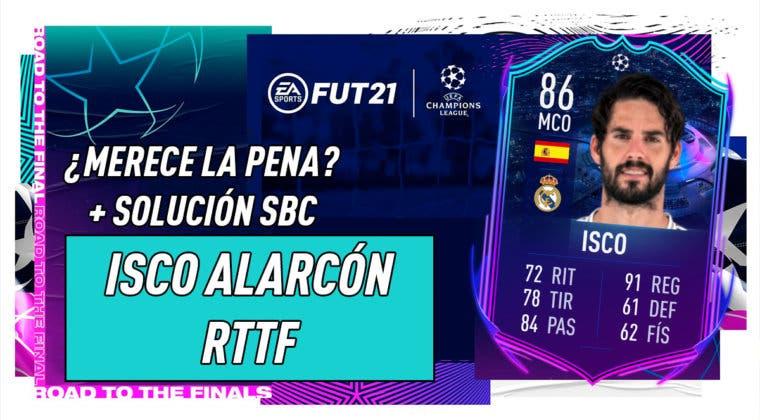 Imagen de FIFA 21: ¿Merece la pena Isco RTTF? + Solución de su SBC