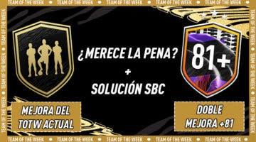 """Imagen de FIFA 21: ¿Merecen la pena los SBC's """"Mejora del TOTW actual"""" y """"Doble mejora +81""""?"""