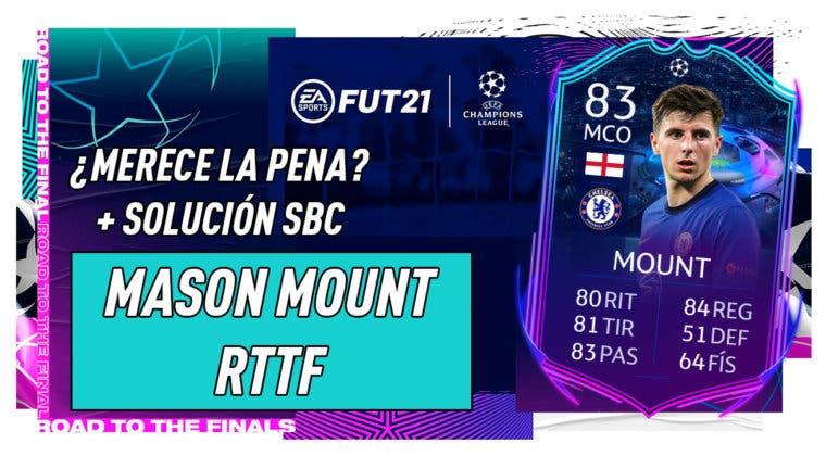 Imagen de FIFA 21: ¿Merece la pena Mason Mount RTTF? + Solución de su SBC