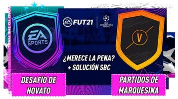 """Imagen de FIFA 21: ¿Merecen la pena los SBC's """"Desafío de novato"""" y """"Partidos de marquesina""""?"""