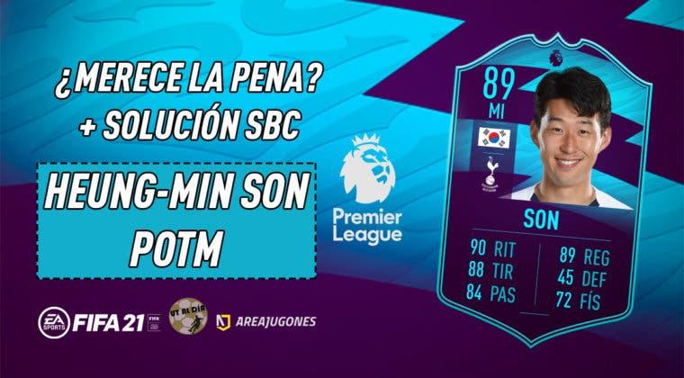 Imagen de FIFA 21: ¿Merece la pena Heung Min Son POTM? + Solución de su SBC