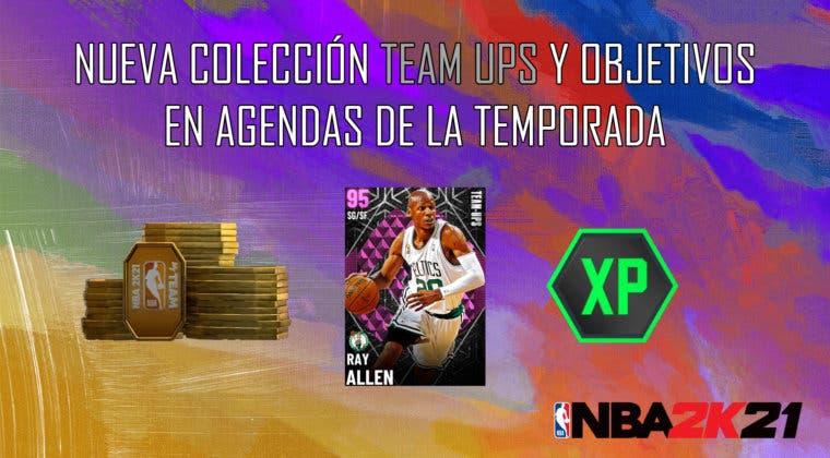 Imagen de NBA 2K21 MyTeam: nueva colección Team Ups y objetivos en Agendas de la Temporada