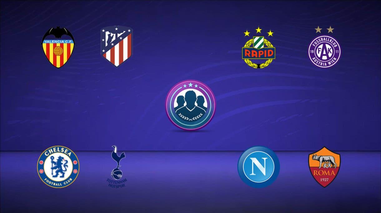 FIFA 21 Ultimate Team Predicción SBC Partidos de Marquesina