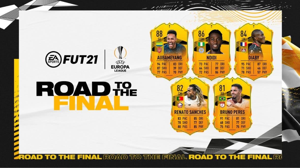 FIFA 21 Ultimate Team cartas RTTF Europa League