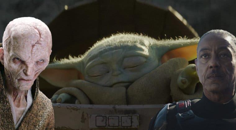 Imagen de The Mandalorian: ¿Es Baby Yoda el verdadero origen de Snoke?